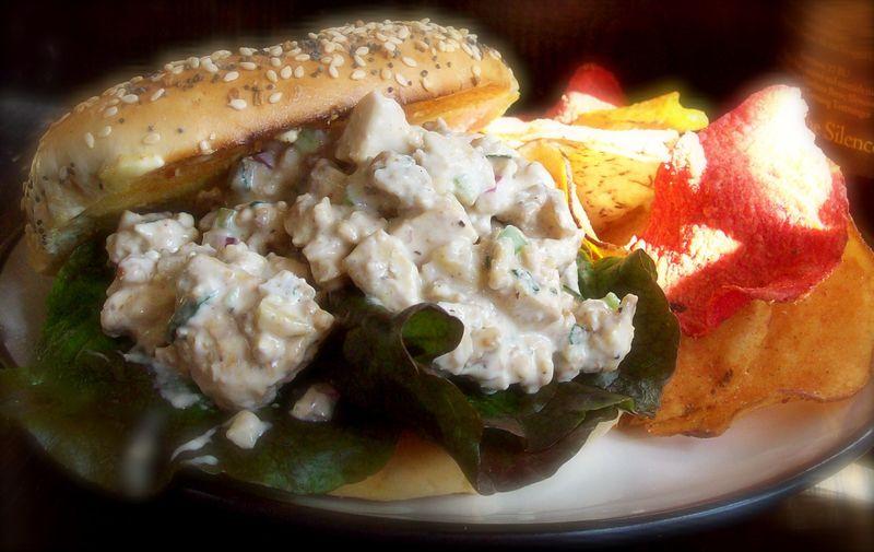 Chick Salad Sandwich CU