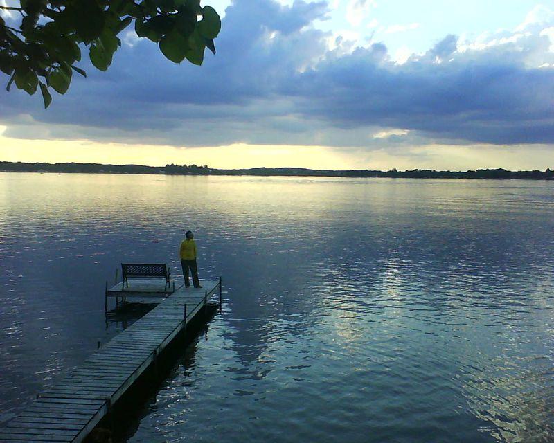 Me on dock