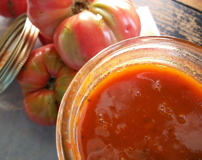 Jar of sauce