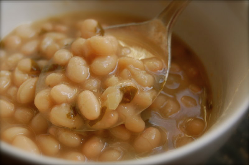 White bean soup 020